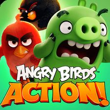 Взломанная игра Angry Birds Action! (Взлом на монеты) на Андроид