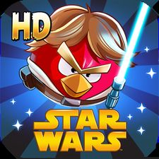 Взломанная игра Angry Birds Star Wars HD (Взлом на монеты) на Андроид