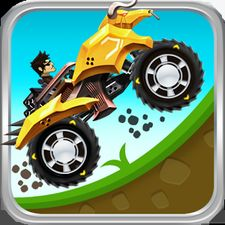 Взломанная игра Up Hill Racing: Hill Climb (Взлом на монеты) на Андроид