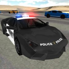Взломанная Police Car Driving Simulator (Взлом на монеты) на Андроид
