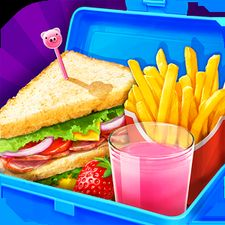 Взломанная игра School Lunch Food Maker 2 (Взлом на монеты) на Андроид