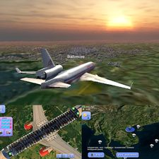Взломанная Flight World Simulator (Взлом на монеты) на Андроид