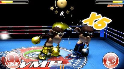 Взломанная игра Monkey Boxing (Взлом на монеты) на Андроид
