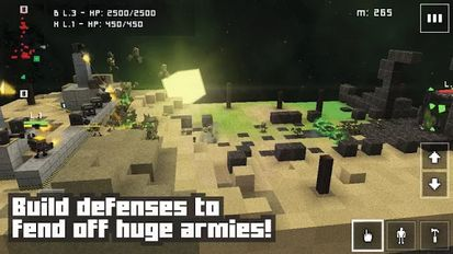 Взломанная Block Fortress: War (Взлом на монеты) на Андроид