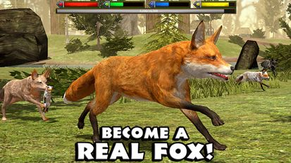 Взломанная игра Ultimate Fox Simulator (Взлом на монеты) на Андроид