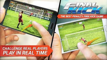 Взломанная игра Final kick: Online football (Взлом на монеты) на Андроид