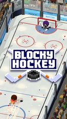 Взломанная Blocky Hockey - Ice Runner (Взлом на монеты) на Андроид