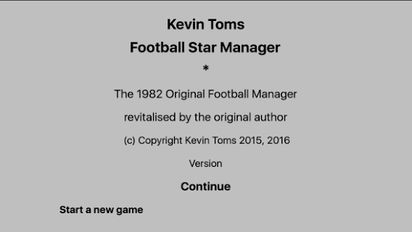Взломанная игра Kevin Toms Football * Manager (Взлом на монеты) на Андроид